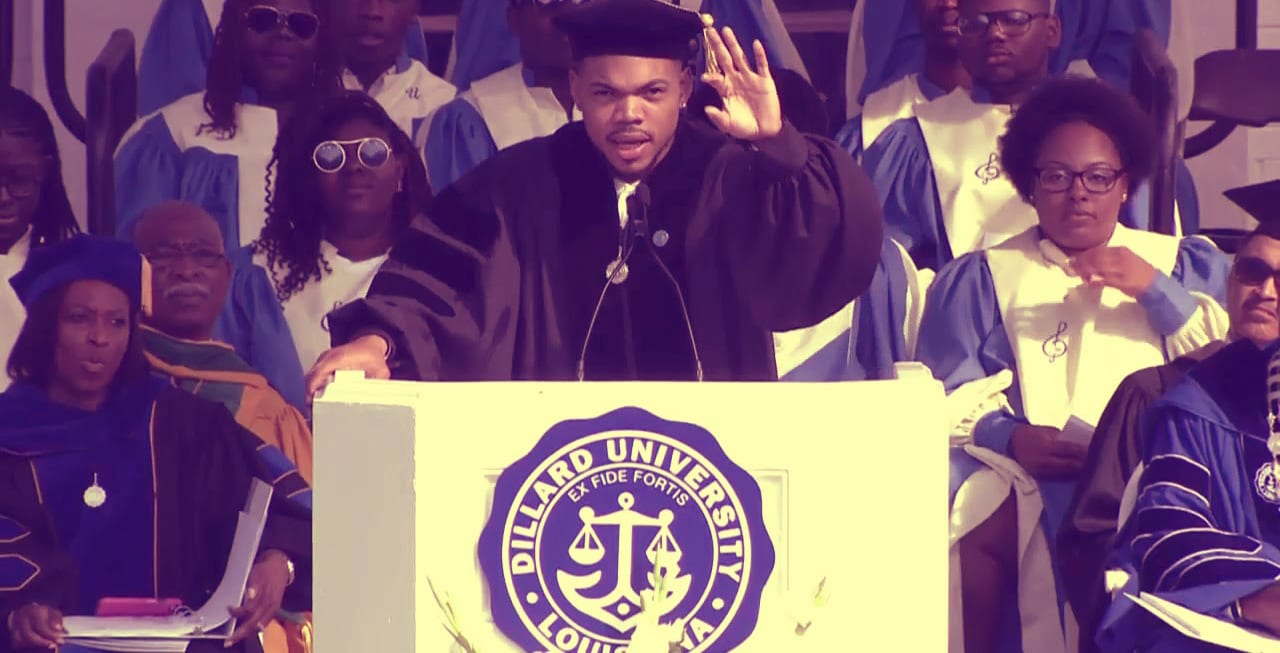 Chance the Rapper Gives Commencement Speech, Accepts Honorary Doctorate